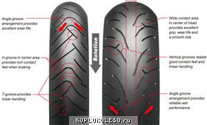 фото шины Bridgestone BT-023